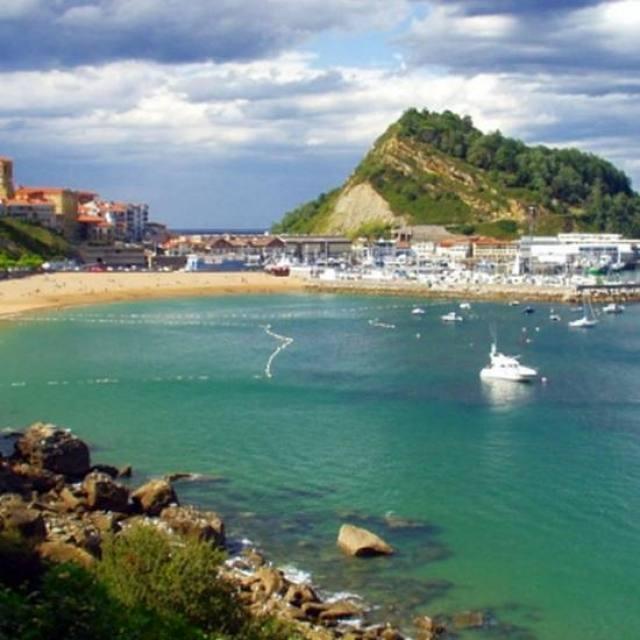 Getaria - Pays basque espagnol. A 1 heure du gîte, après San Sebastian