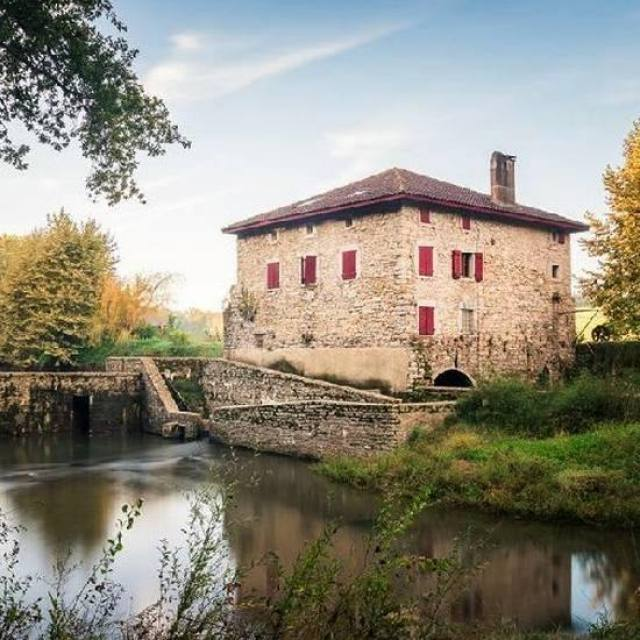 Moulin de Gramont - Bidache. A 35 minutes de Villefranque.